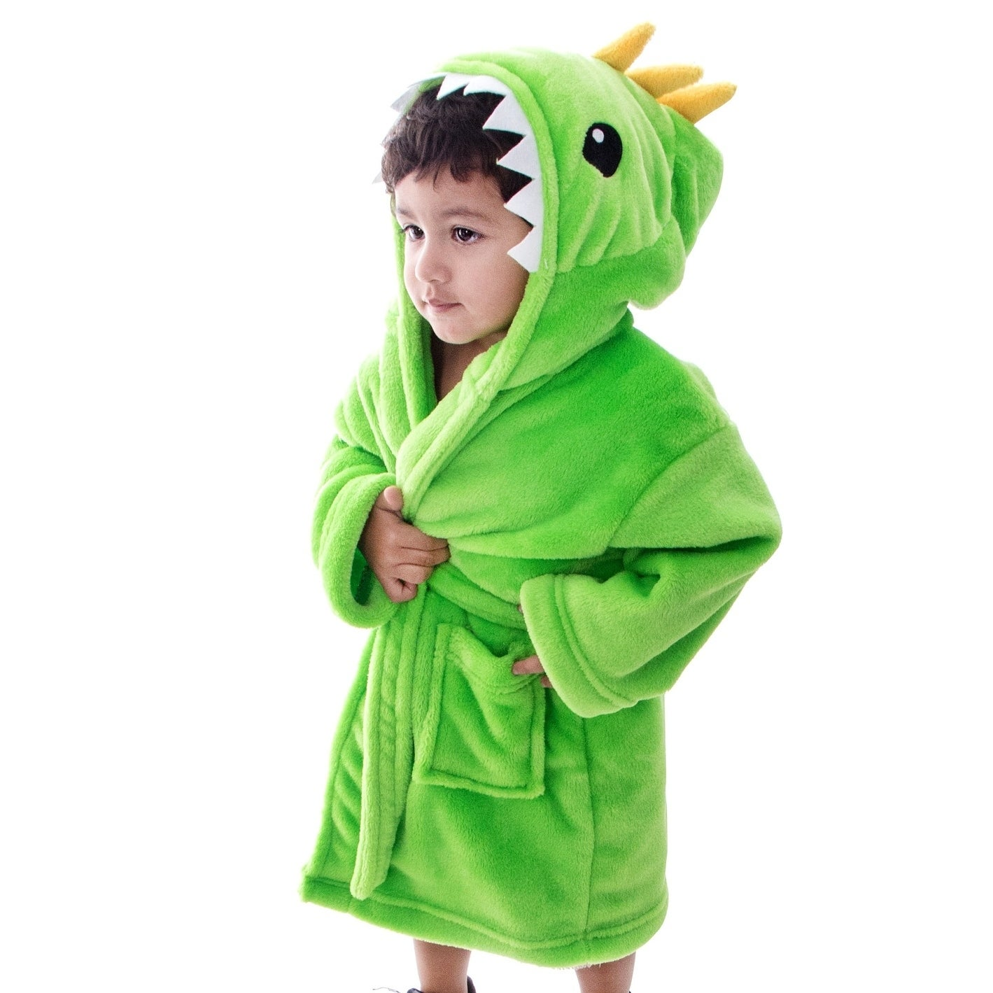 1de2ca4572 Shop Arctic Paw Animal Adventures Plush Soft Hooded Terry Bathrobe -  Dinosaur - On Sale - Free Shipping Today - Overstock - 18128822