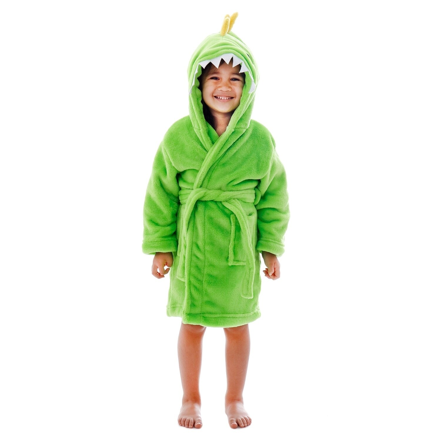 Shop Arctic Paw Animal Adventures Plush Soft Hooded Terry Bathrobe -  Dinosaur - On Sale - Free Shipping Today - Overstock - 18128822 25a6adcaa