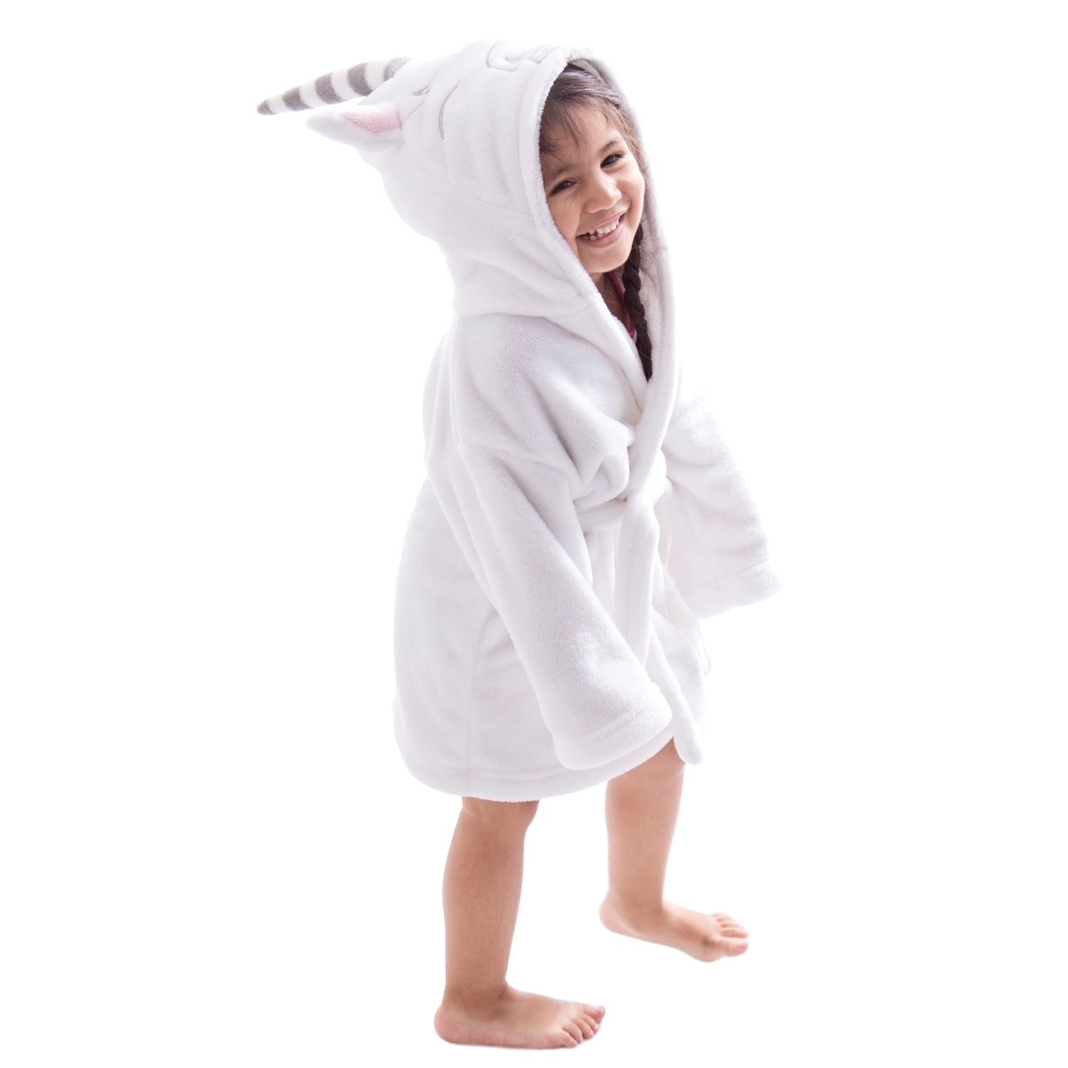 61c994839a Shop Arctic Paw Animal Adventures Plush Soft Hooded Terry Bathrobe - On  Sale - Free Shipping On Orders Over  45 - Overstock - 18128825
