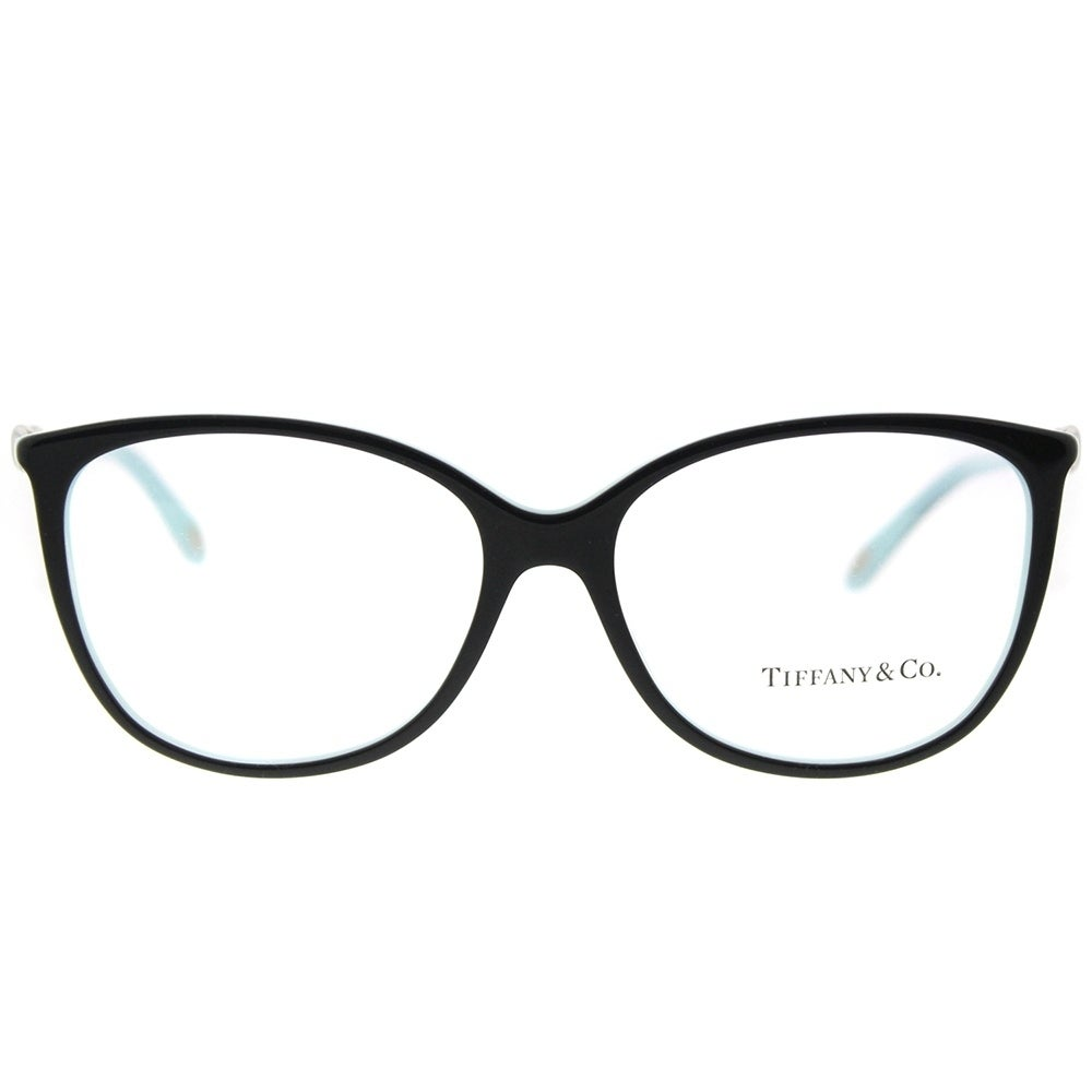 Tiffany & Co. Oval TF 2143B 8055 Womens Black on Blue Frame ...