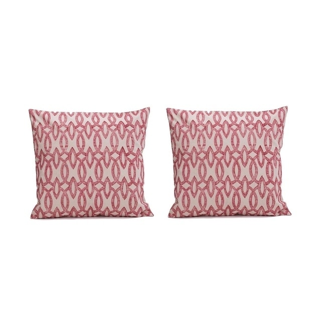 Shop Humming Printed 20inch Decorative Pillow Coverset Of 2 Free