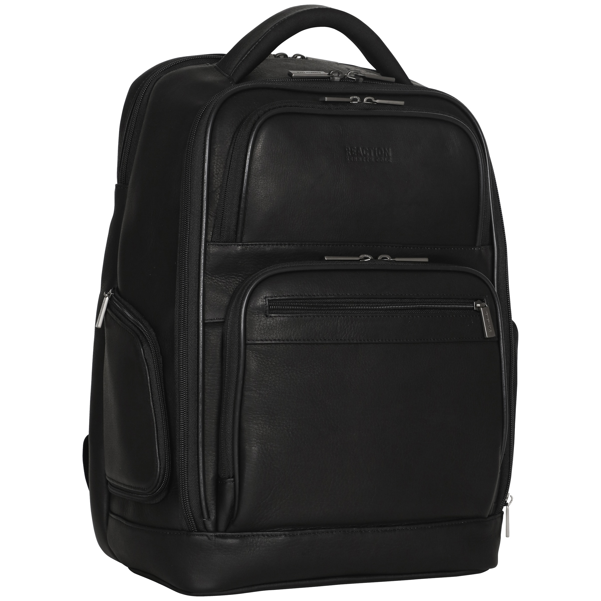 Kenneth Cole Reaction Colombian Leather Dual Compartment 15 6 Inch Laptop Business Backpack With Anti Theft Rfid Free Shipping Today