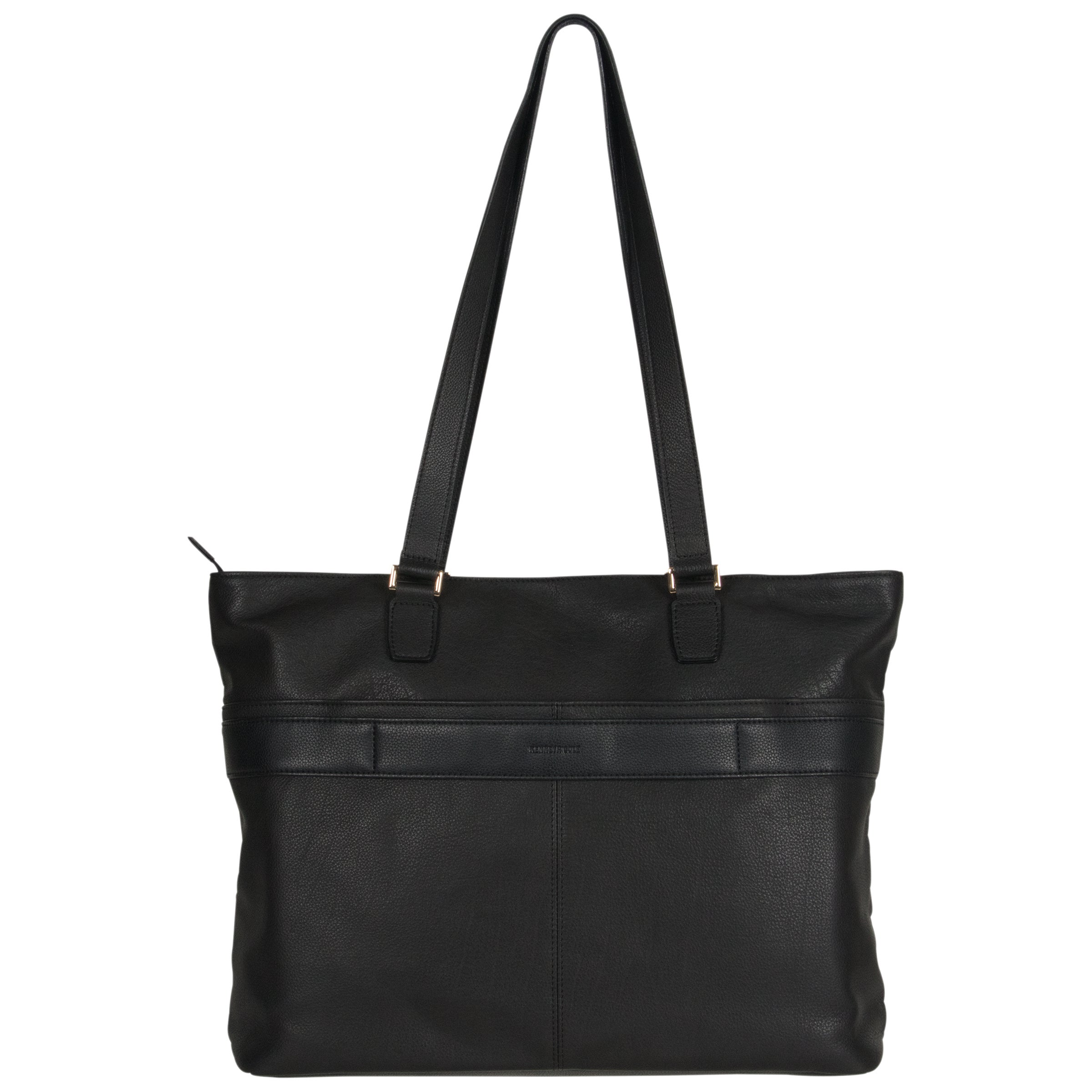 Kenneth Cole Reaction Pebbled Leather Fashion Forward K Pocket Top Zip 15 Inch Laptop Business Tote Bag Free Shipping Today