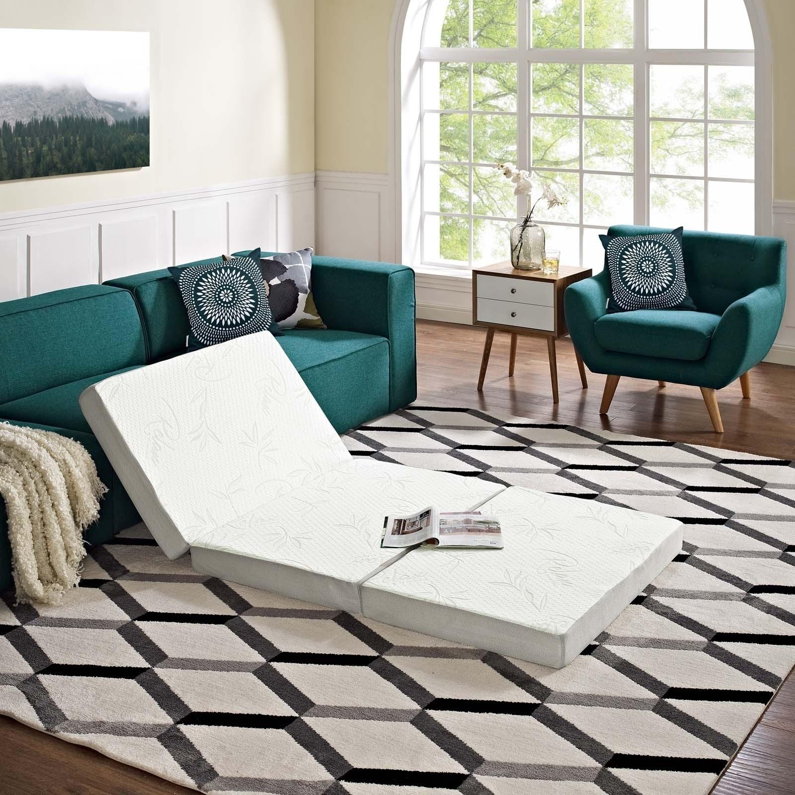 Relax 39 x 80 x 4 (Twin XL) Tri-Fold Mattress Topper & Shop Relax 39 x 80 x 4 (Twin XL) Tri-Fold Mattress Topper - Free ...