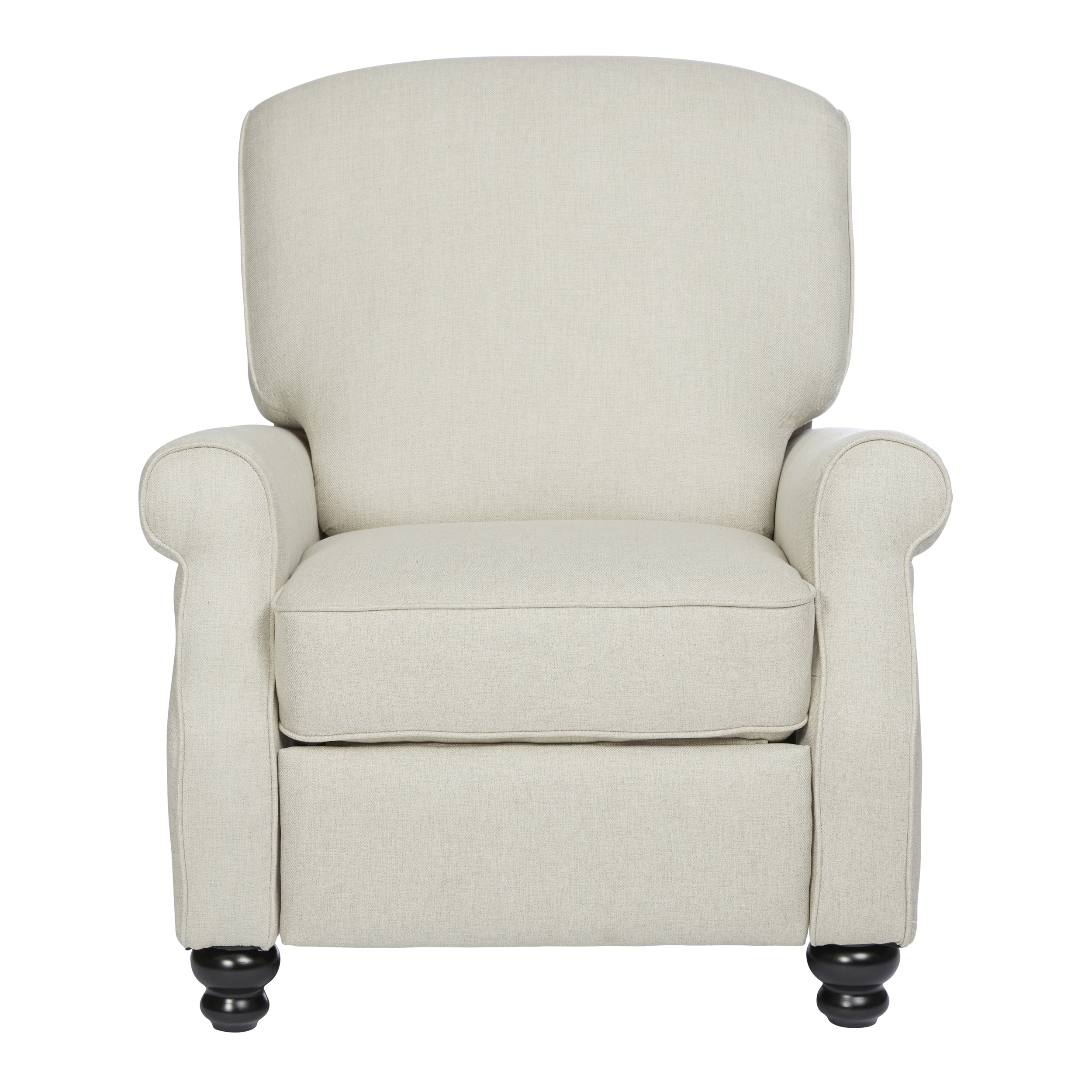 Shop ProLounger Tan Herringbone Push Back Recliner Chair   Free Shipping  Today   Overstock.com   18152649