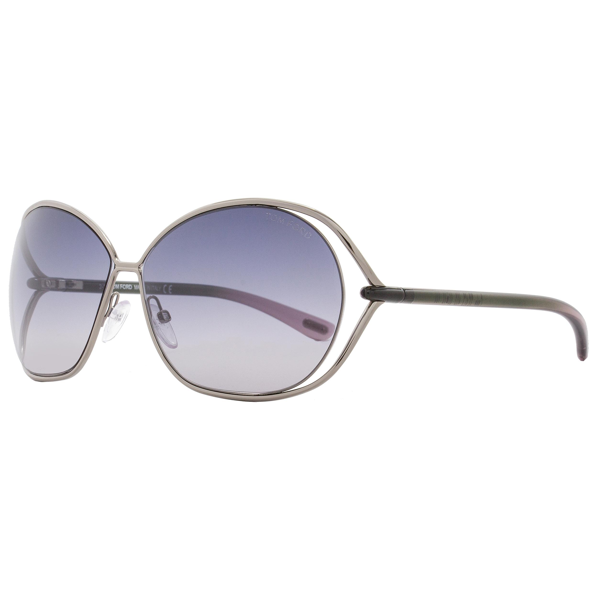 e4c731faea Shop Tom Ford TF157 Carla 10B Women s Nickeltin Rose Gray Gray Gradient  Lens Sunglasses - Free Shipping Today - Overstock - 18153196