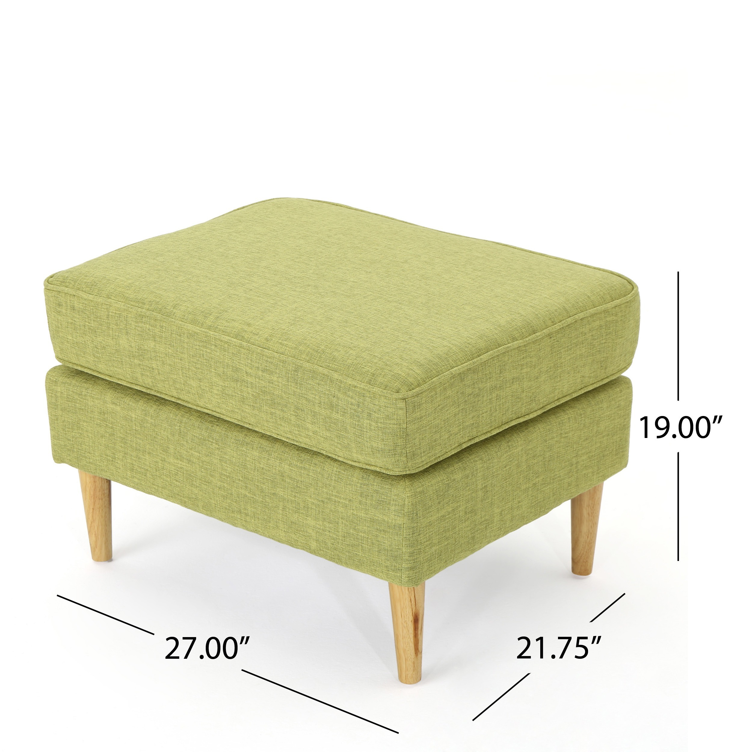 Shop Sawyer Mid Century Modern Fabric Club Chair U0026 Ottoman Set (Set Of 2)  By Christopher Knight Home   On Sale   Free Shipping Today   Overstock.com    ...