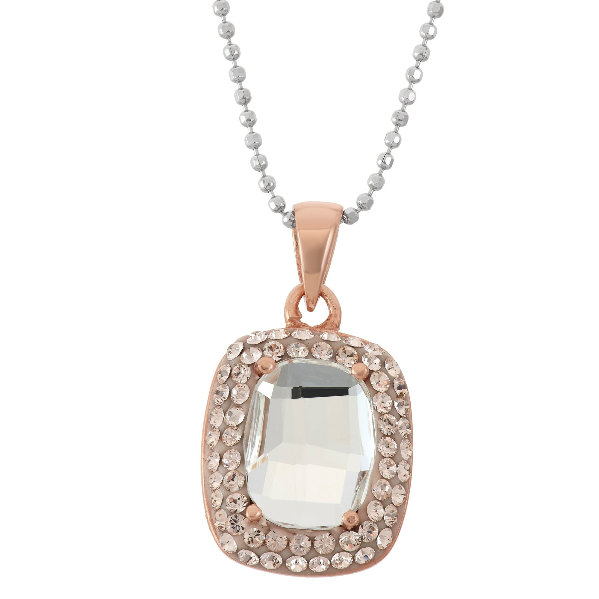 related en swarovski kristal products crystal classic necklace pinit jewelry caramel new silver rhodium otazu