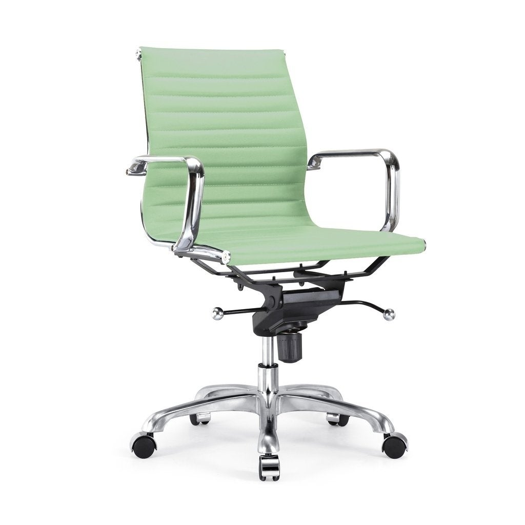 Shop Century Mint Modern Classic Aluminum Office Chair   Free Shipping  Today   Overstock.com   18179421