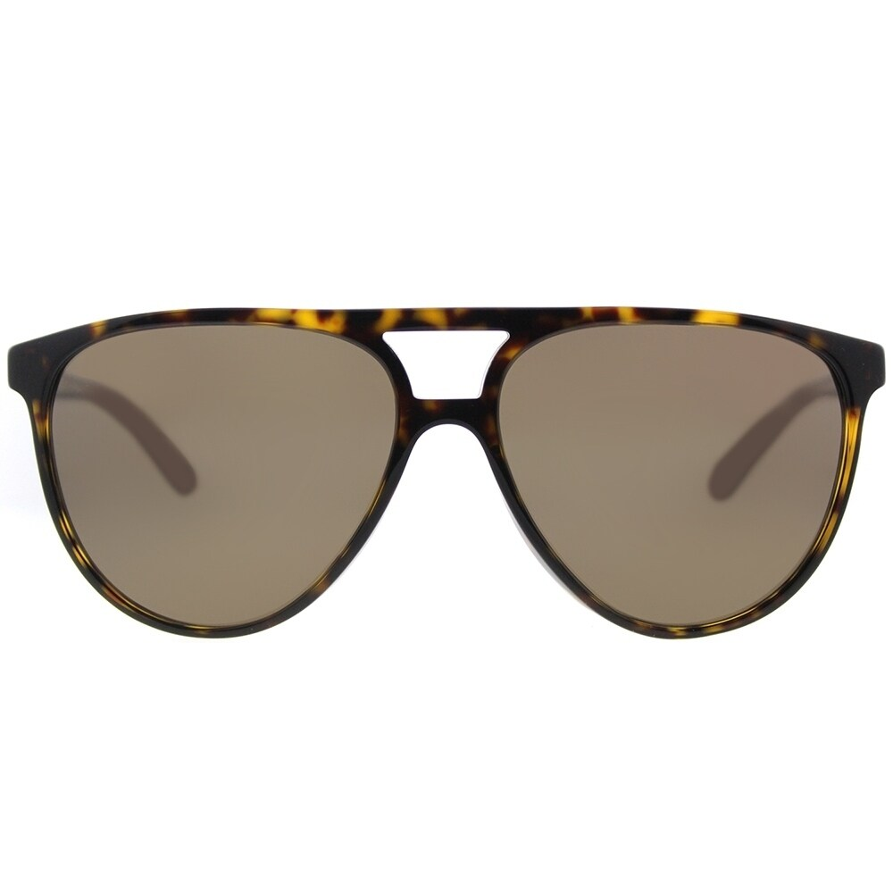 28be7382e1 Shop Burberry Aviator BE 4254 300273 Unisex Dark Havana Frame Brown Lens  Sunglasses - Free Shipping Today - Overstock - 18181612