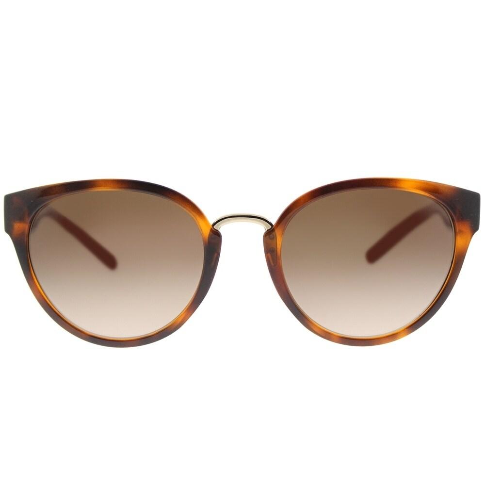 91918761a043 Shop Burberry Cat Eye BE 4249 331613 Women s Light Havana Frame Brown  Gradient Lens Sunglasses - Free Shipping Today - Overstock - 18181779