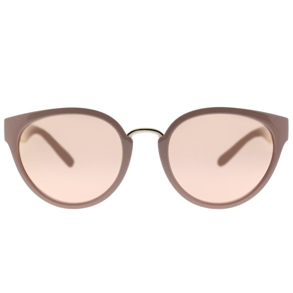 195d6d137c52 Shop Burberry Cat Eye BE 4249 32817J Women s Beige Frame Rose Gold Mirror  Lens Sunglasses - Ships To Canada - Overstock.ca - 18181780