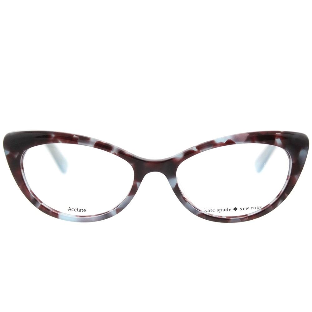 Kate Spade Cat Eye KS Analena W82 Women\'s Blue Tortoise Frame ...