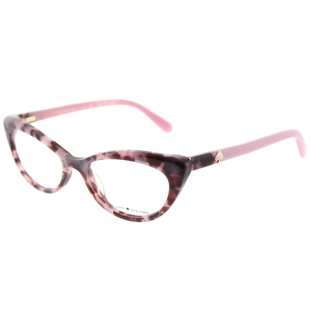 Shop Kate Spade Cat Eye KS Analena W83 Women\'s Pink Tortoise Frame ...