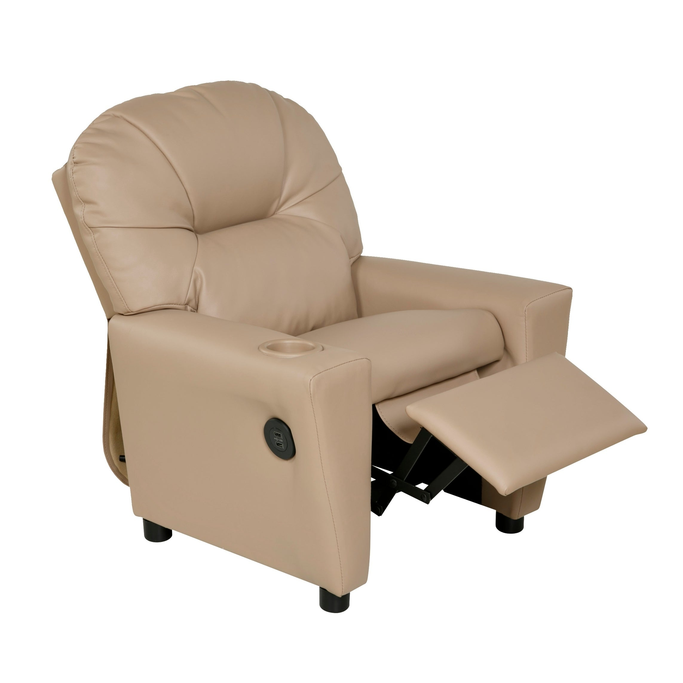 Superieur Shop Relaxzen 60 7100KU Youth Recliner With Cupholder And Dual USB   Free  Shipping Today   Overstock.com   18182920