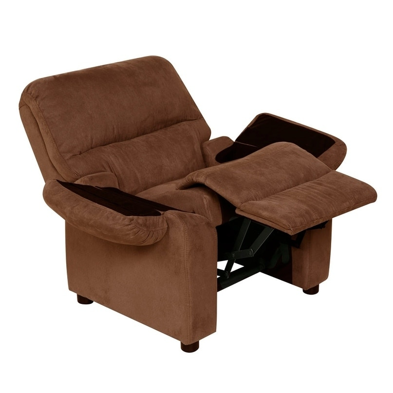 Charmant Shop Relaxzen 60 7101KU Youth Recliner With Storage Arms And Dual USB    Free Shipping Today   Overstock.com   18182924