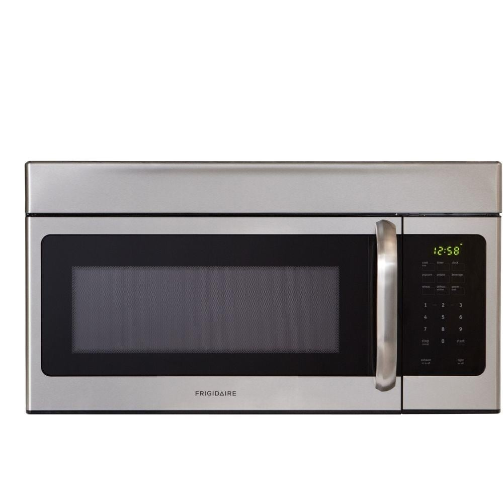 Lfmv164qf Frigidaire 1 6 Cu Ft Stainless Steel Over The Range Microwave Free Shipping Today 24329156