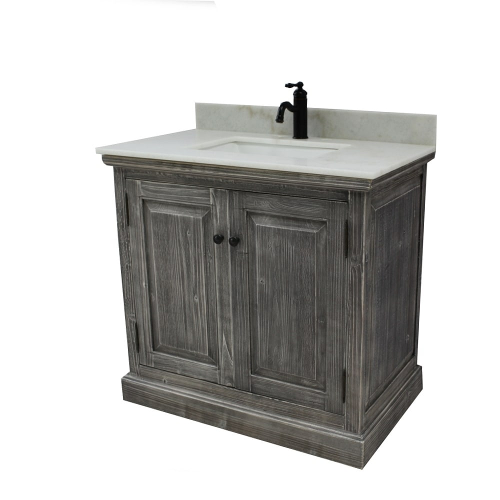 Shop Rustic Style 31 Inch Bathroom Vanity   Free Shipping Today    Overstock.com   18185190
