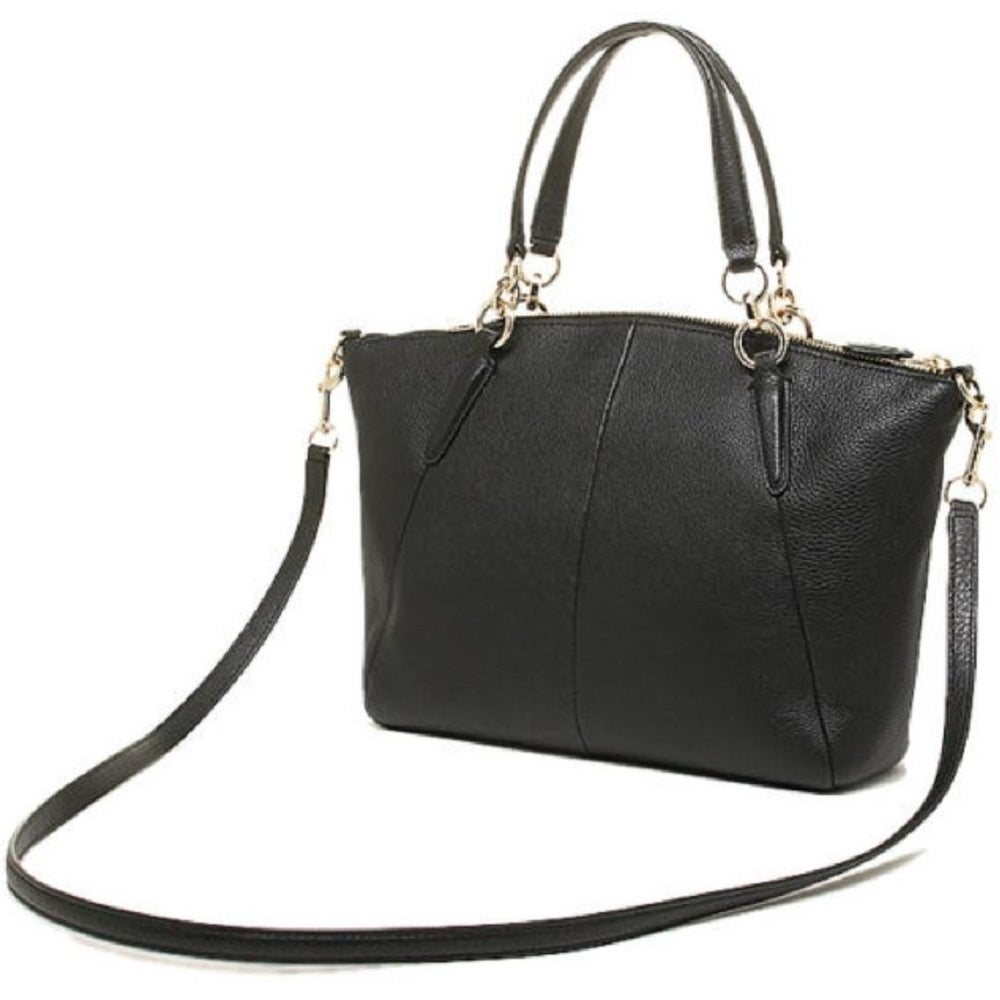 b8627db10df2 Shop Coach Small Kelsey Satchel In Pebble Leather F36675 - Free Shipping  Today - Overstock - 18188464