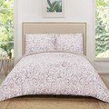 Truly Soft Watercolor Paisley Printed 3 Piece Quilt Set