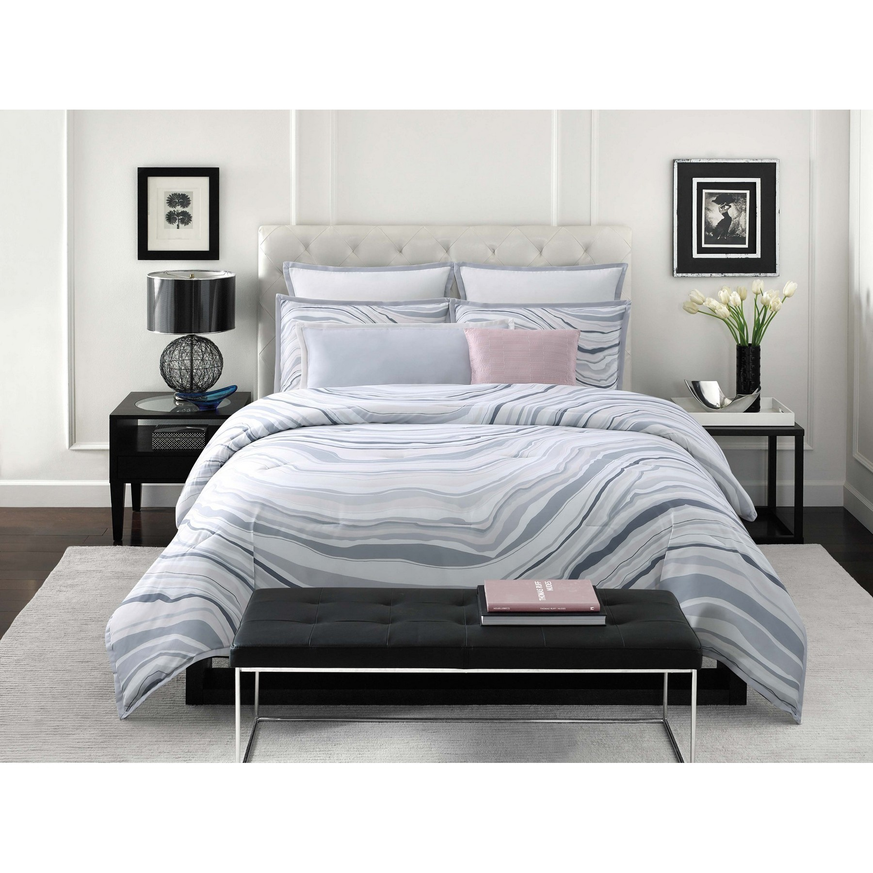 Vince Camuto Valero 3 Piece Comforter Set - Free Shipping Today ...
