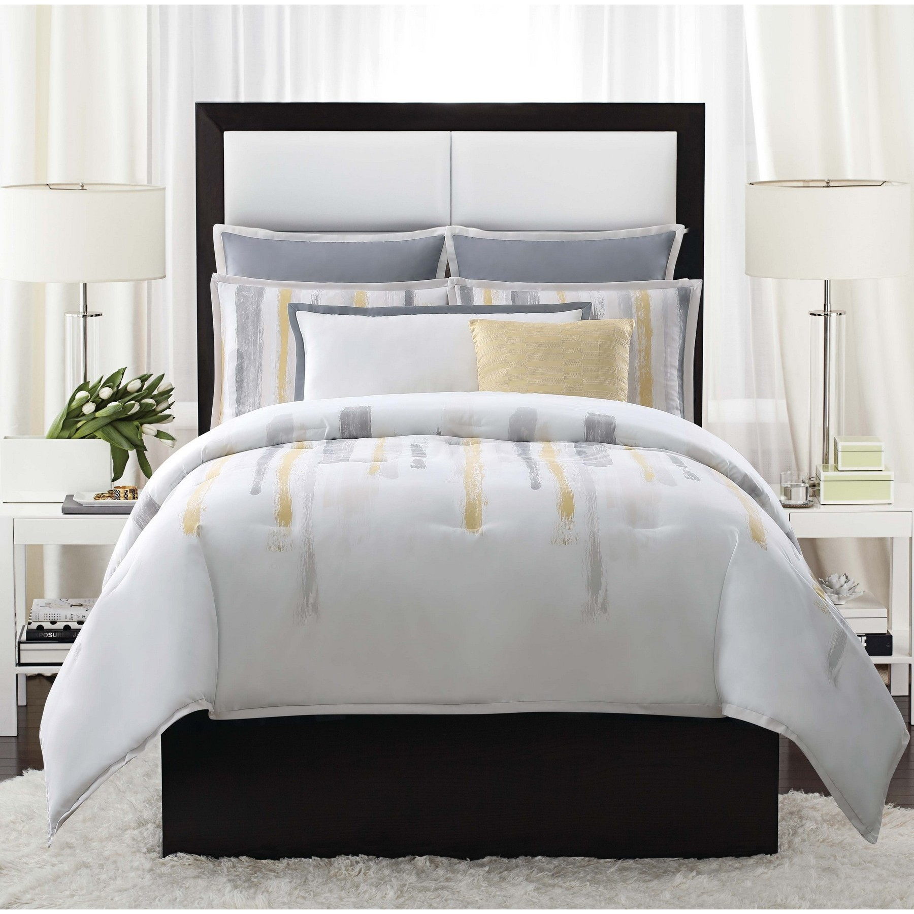 comforter bedding camuto bed bath basel pin coverlet full queen macy s collections vince