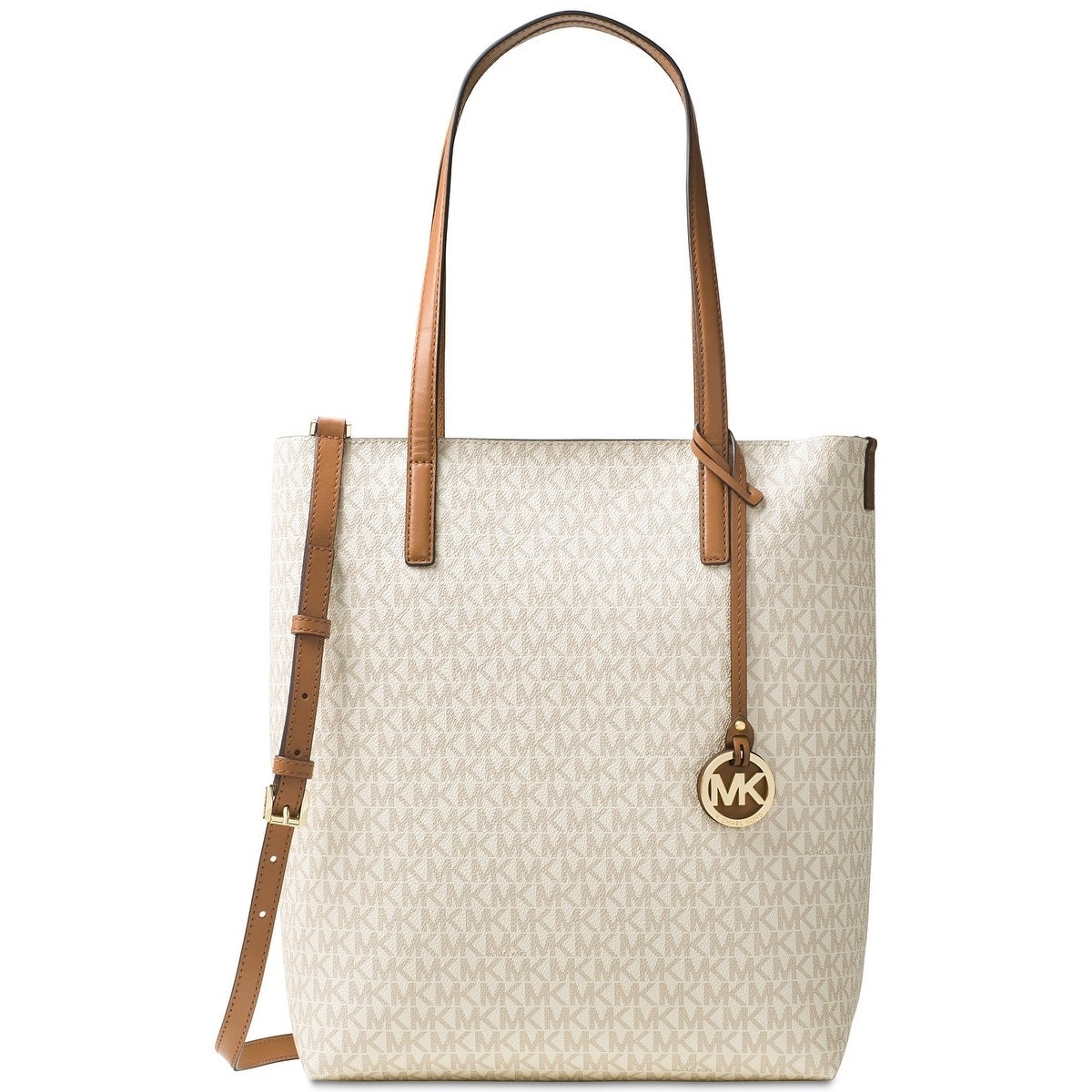 c771ffb3920933 Shop MICHAEL Michael Kors Hayley Large North South Top Zip Tote - Ships To  Canada - Overstock - 18214856