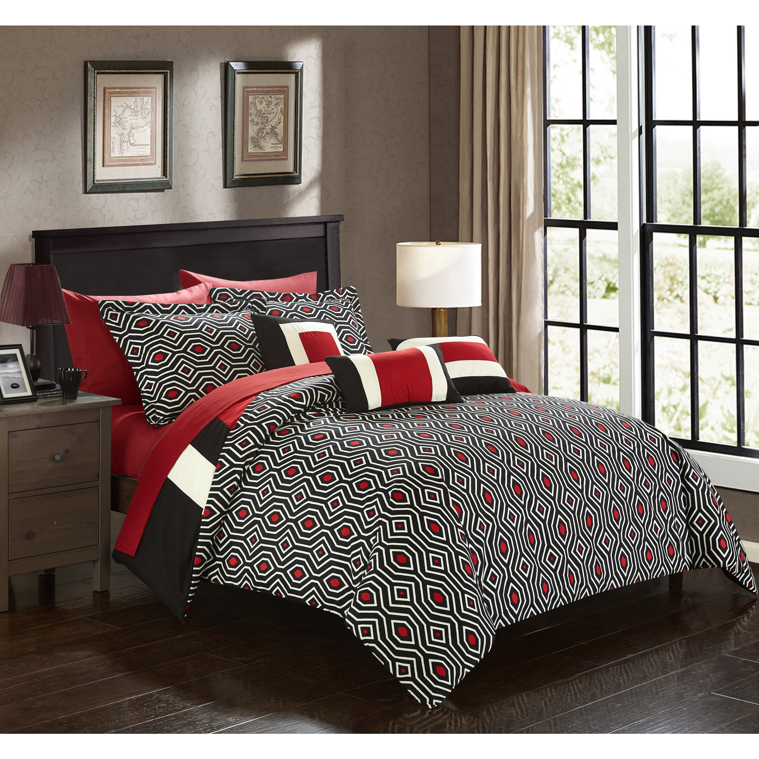 com comforter hotel walmart sets ip set piece style