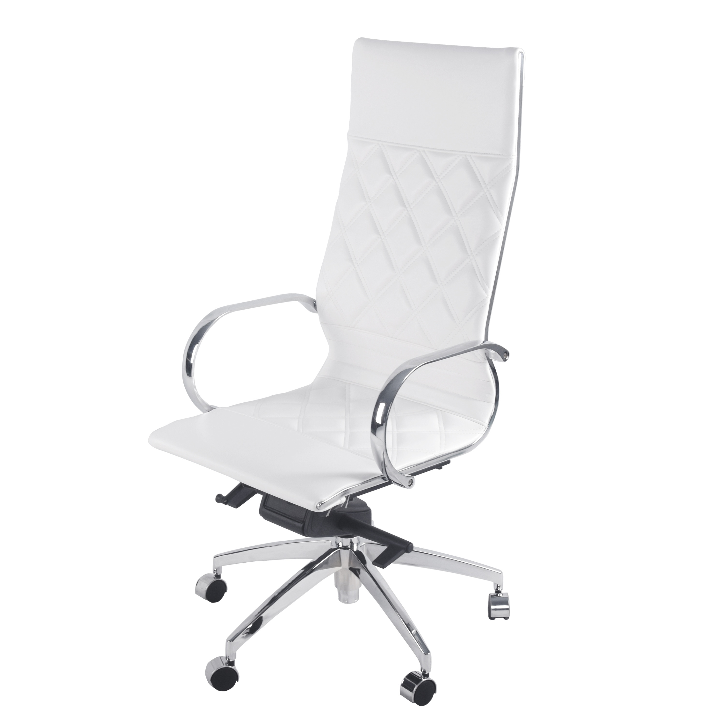 Shop Atlas PU Leather Executive High Back Office Chair   Free Shipping  Today   Overstock.com   18215477