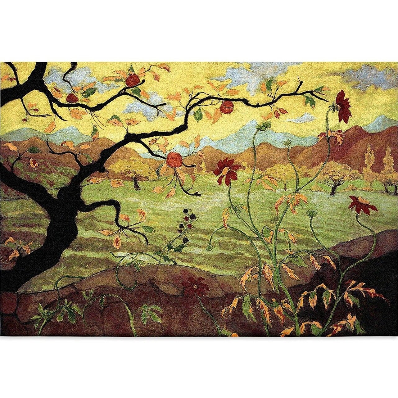 Shop Apple Tree Wall Tapestry 35 in. x 54 in. - On Sale - Free ...