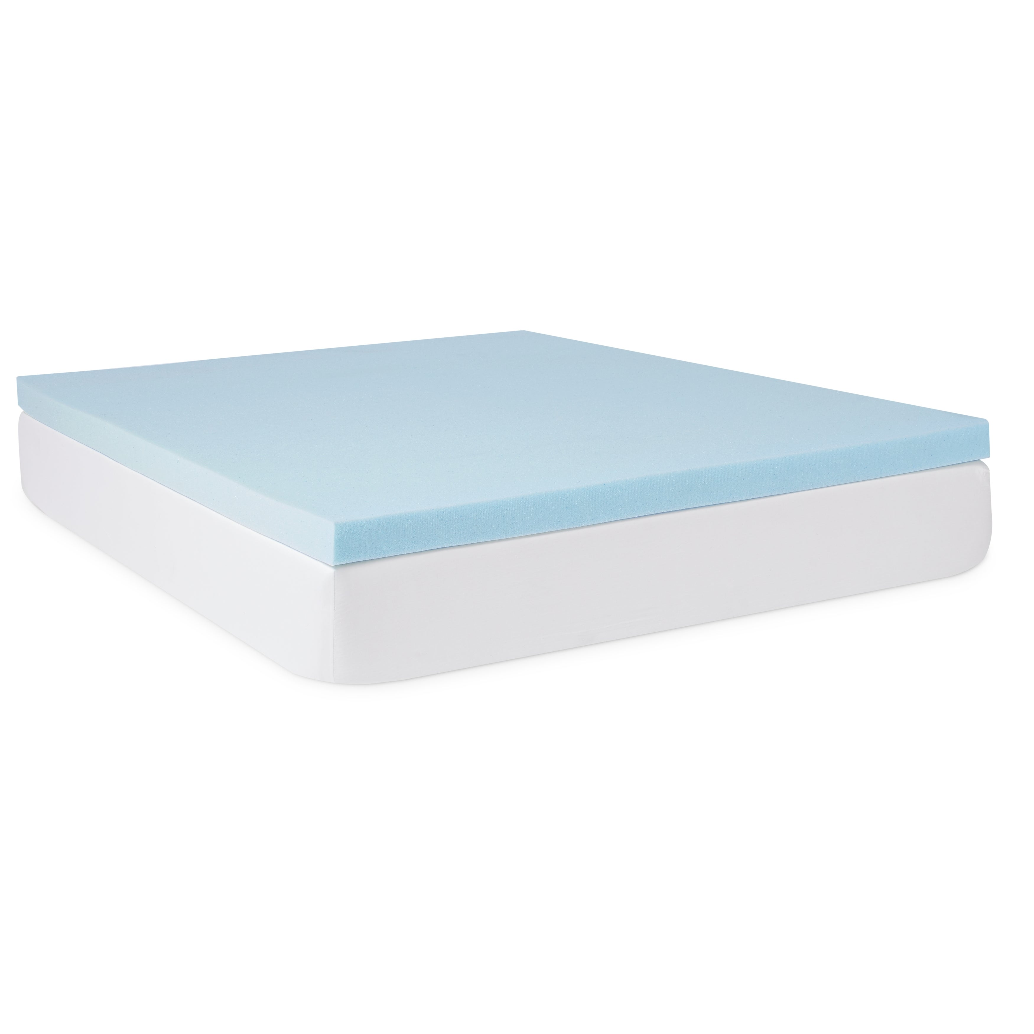 Shop Lucid 3 Inch Gel Memory Foam Mattress Topper With Premium