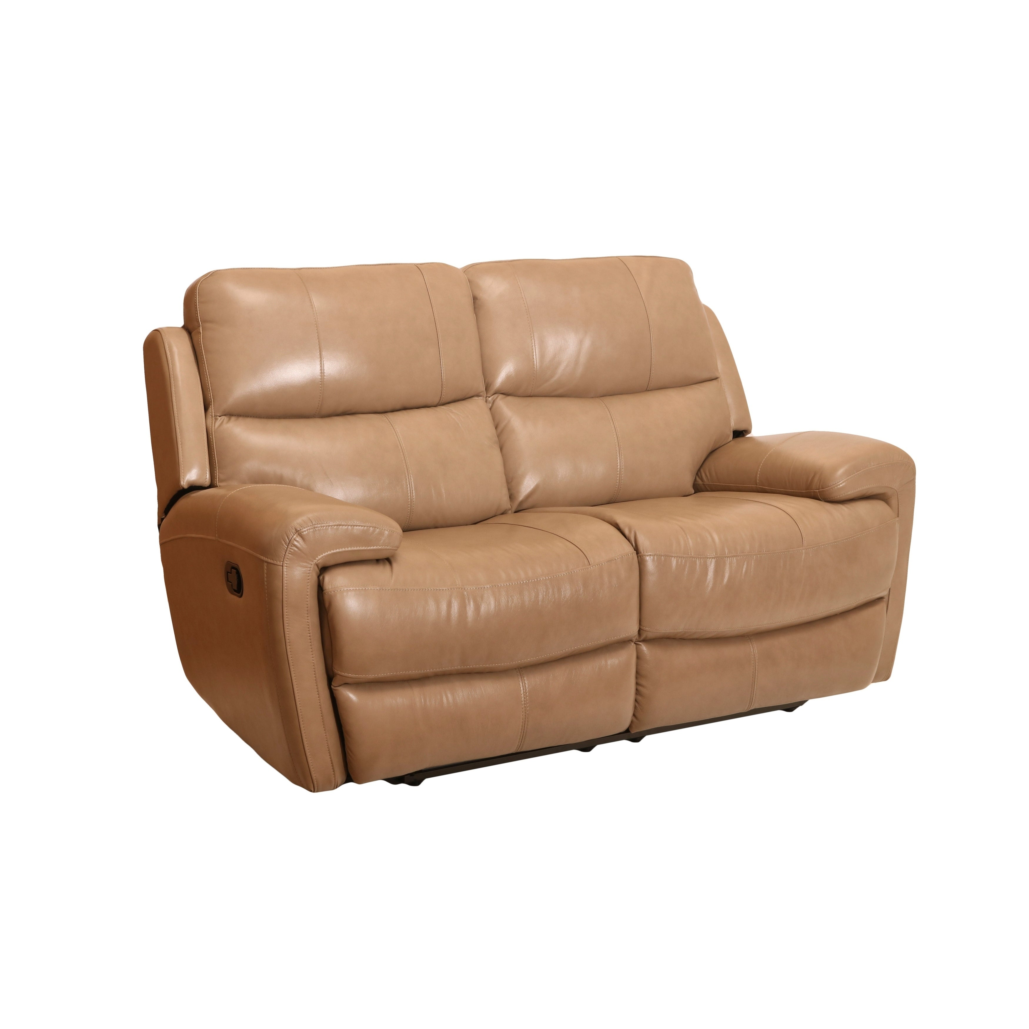 tan with width products by tufting item button leather height loveseat threshold gentry joanna gaines trim magnolia home