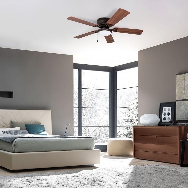 . 52  Prominence Home Benton Hugger LED Ceiling Fan  Bronze