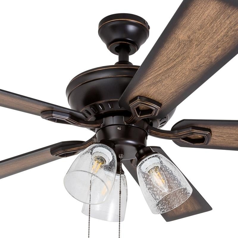 Shop 52 glenmont rustic 3 light oil rubbed bronze led ceiling fan shop 52 glenmont rustic 3 light oil rubbed bronze led ceiling fan with edison bulbs free shipping today overstock 18220414 aloadofball Image collections