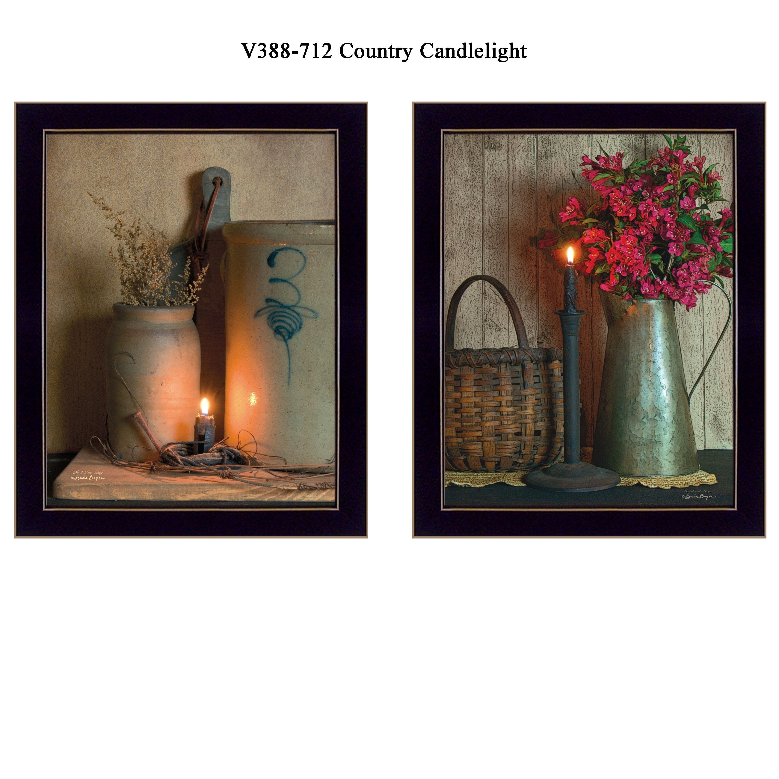 Country candlelight collection by susan boyer printed wall art country candlelight collection by susan boyer printed wall art ready to hang framed poster black frame free shipping today overstock 24362405 jeuxipadfo Choice Image