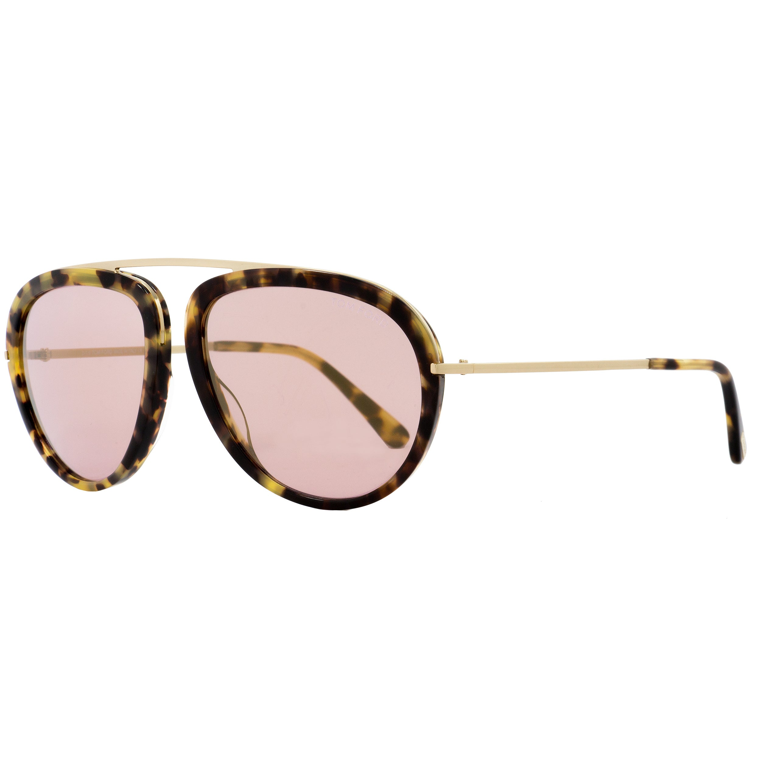 Shop Tom Ford TF452 Stacy 53Z Women s Tortoise Rose Gold Rose Gold Mirror  Lens Sunglasses - Free Shipping Today - Overstock - 18221910 0bc58c9ddc