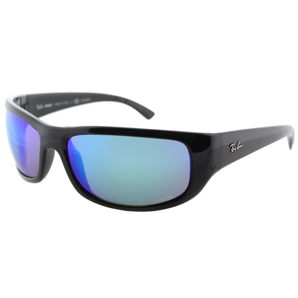 6b2465ed9b6af Ray-Ban Sport RB 4283CH 710 A3 Unisex Tortoise Frame Bronze Mirror  Chromance Lens Sunglasses