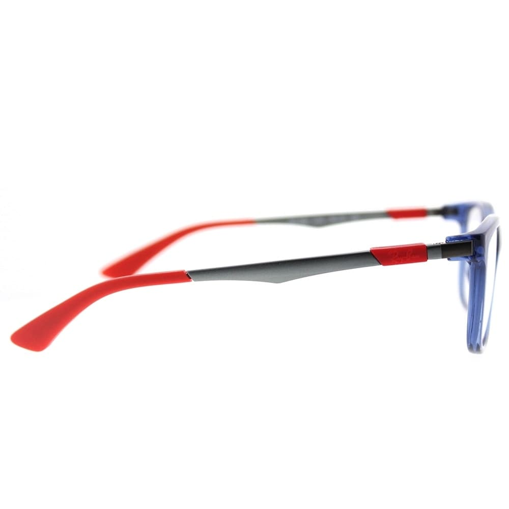 de511f4dd8 Shop Ray-Ban Square RY 1549 3734 Children s Transparent Blue Frame  Eyeglasses - Free Shipping Today - Overstock - 18224454