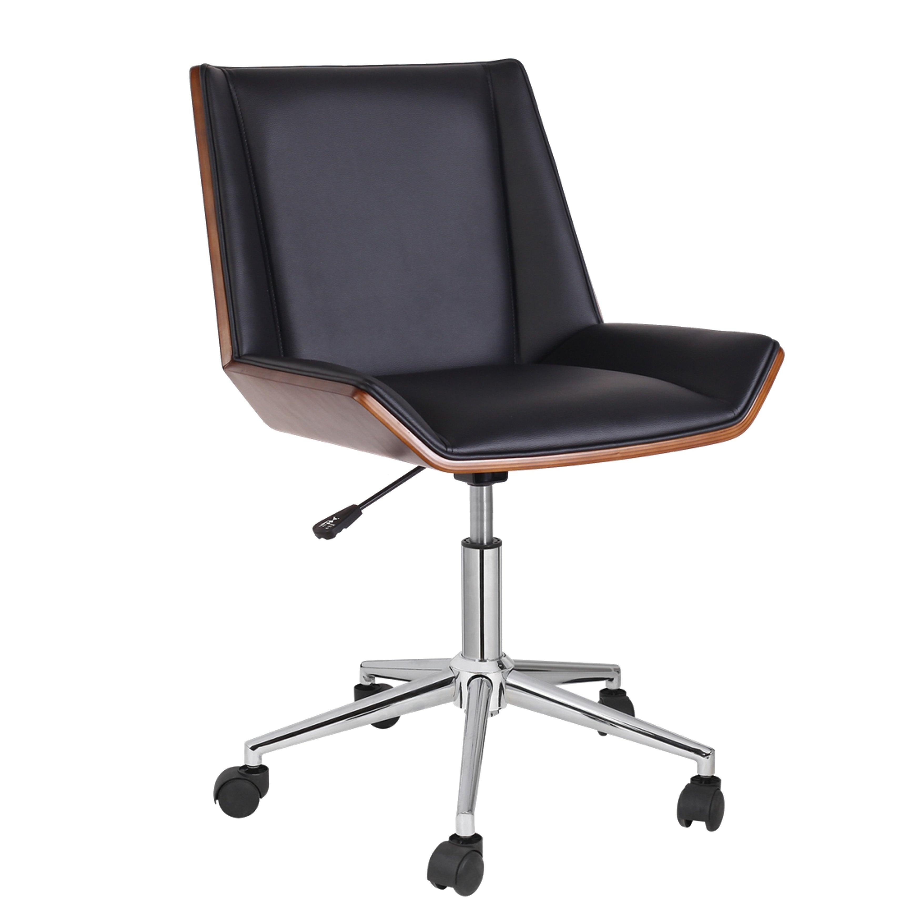 pvc home office chair. Porthos Home Office Chair With PVC Upholstery And Adjustable Height - Free Shipping Today Overstock.com 24366166 Pvc