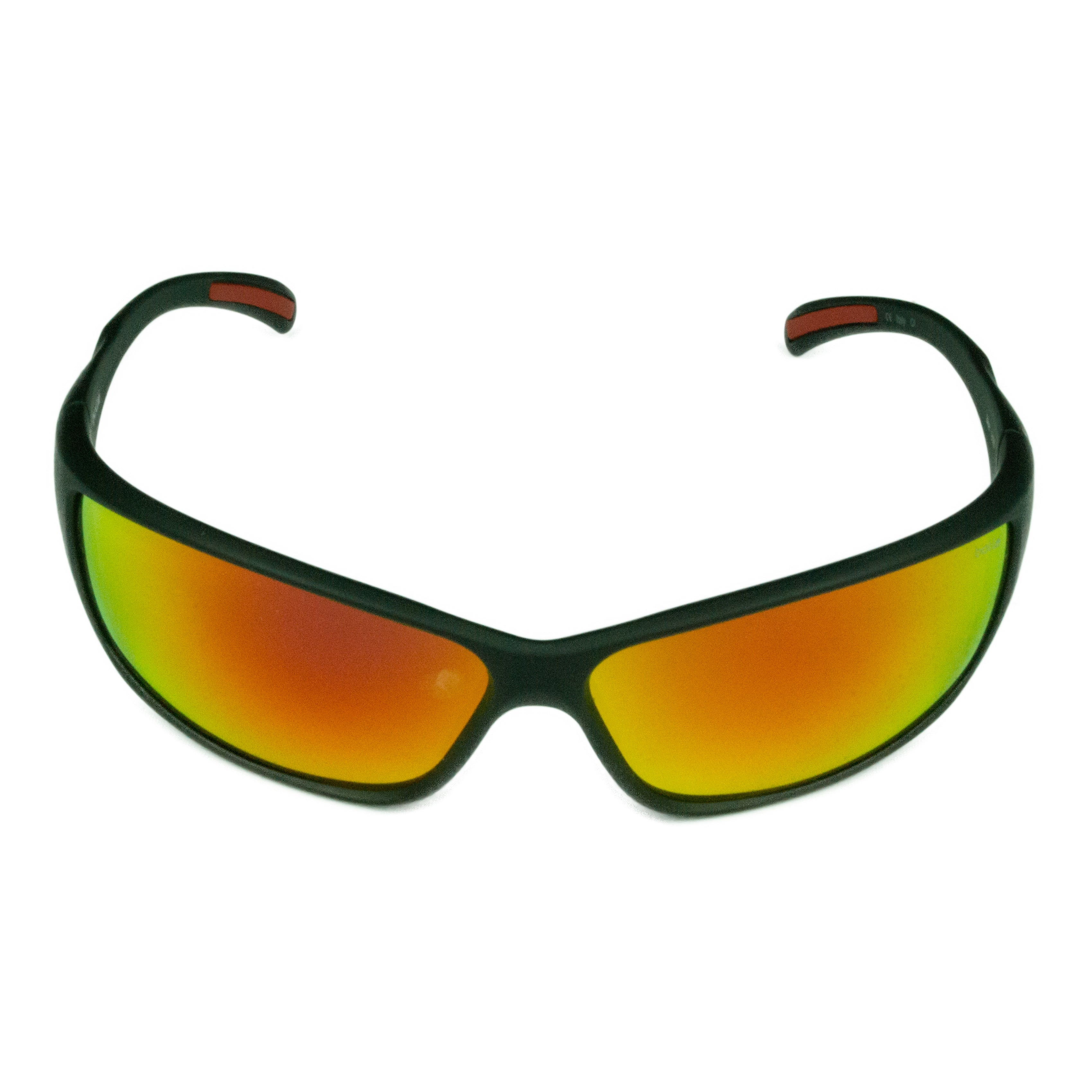 c1896ec223 Shop Bolle Sport Mens Slice 12129 Matte Black w  TNS Fire Lens Sunglasses - Free  Shipping Today - Overstock - 18228909