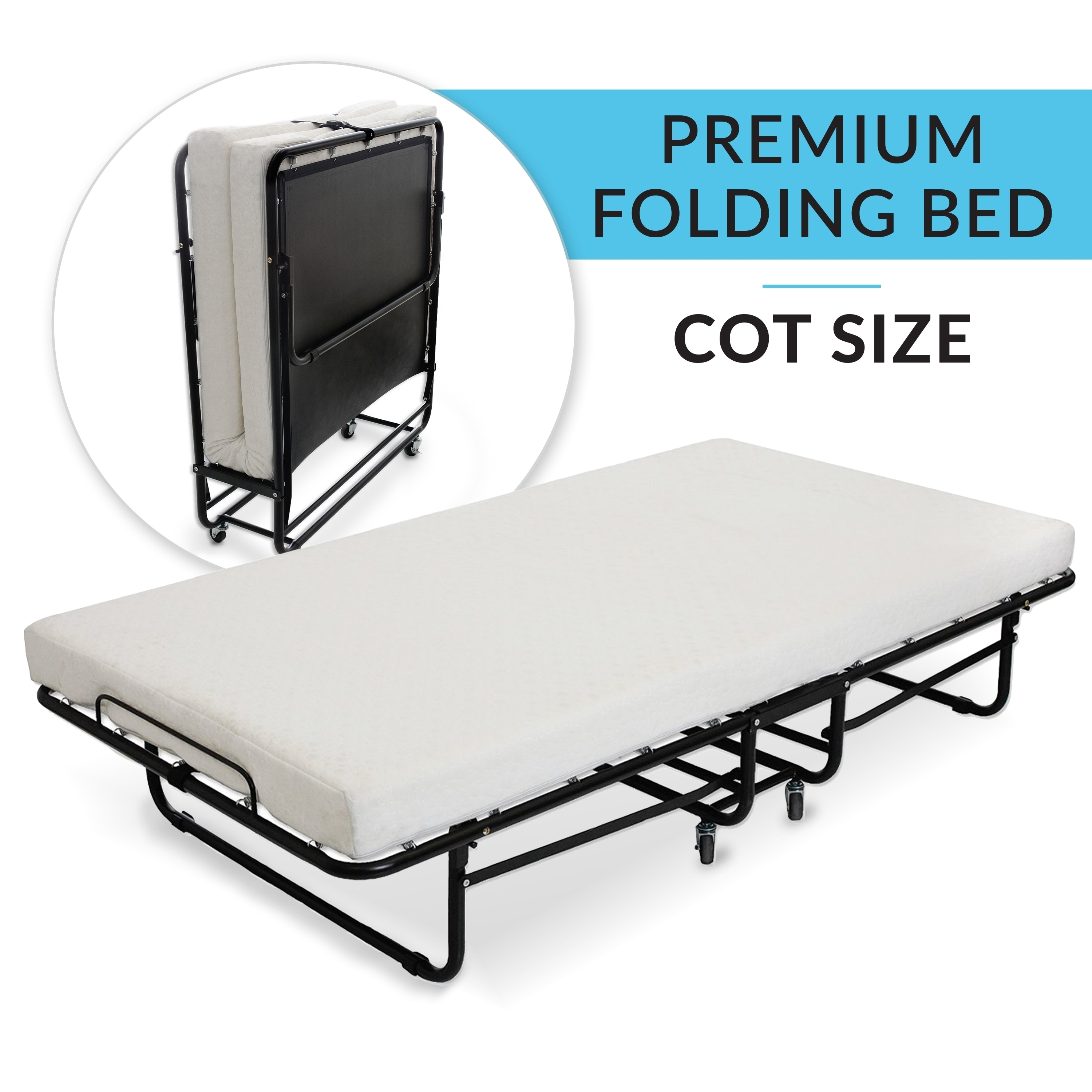 hideaway guest pin twin folding size beautysleep simmons white bed