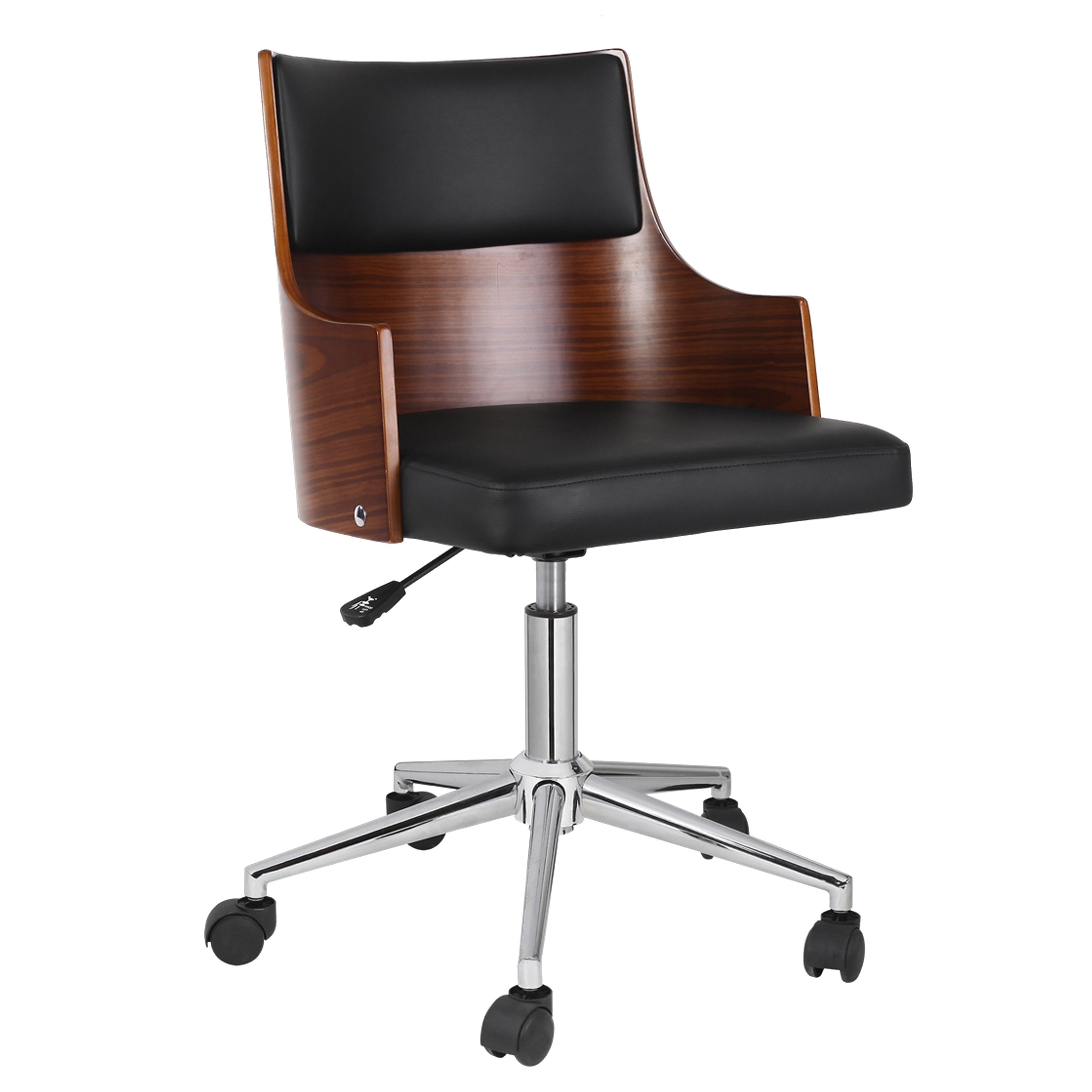pvc home office chair. Porthos Home Office Chair With PVC Upholstery, Adjustable Height - Free Shipping Today Overstock.com 24373504 Pvc I