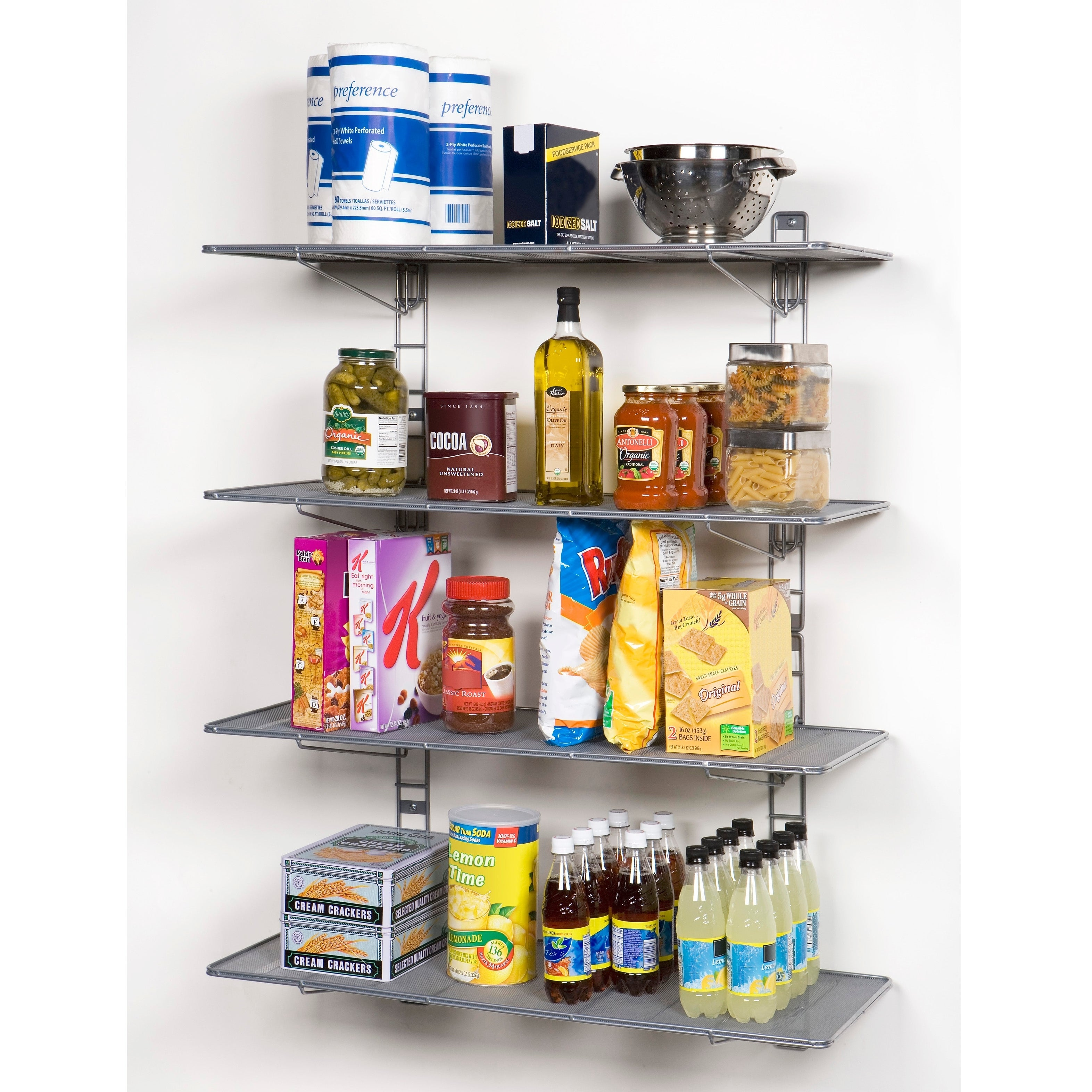 Fancy Wire Mesh Wall Mounted Shelving Gallery - Electrical Diagram ...