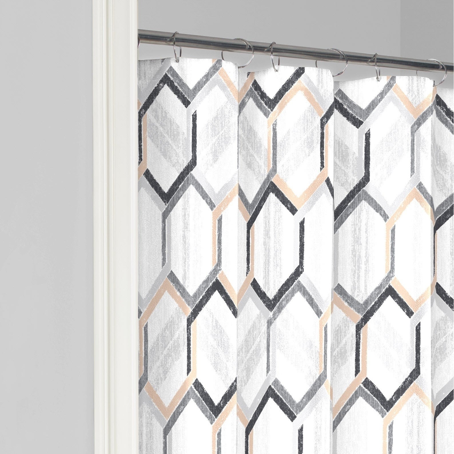 Shop Vue Hexagonal Shower Curtain - Free Shipping On Orders Over $45 ...