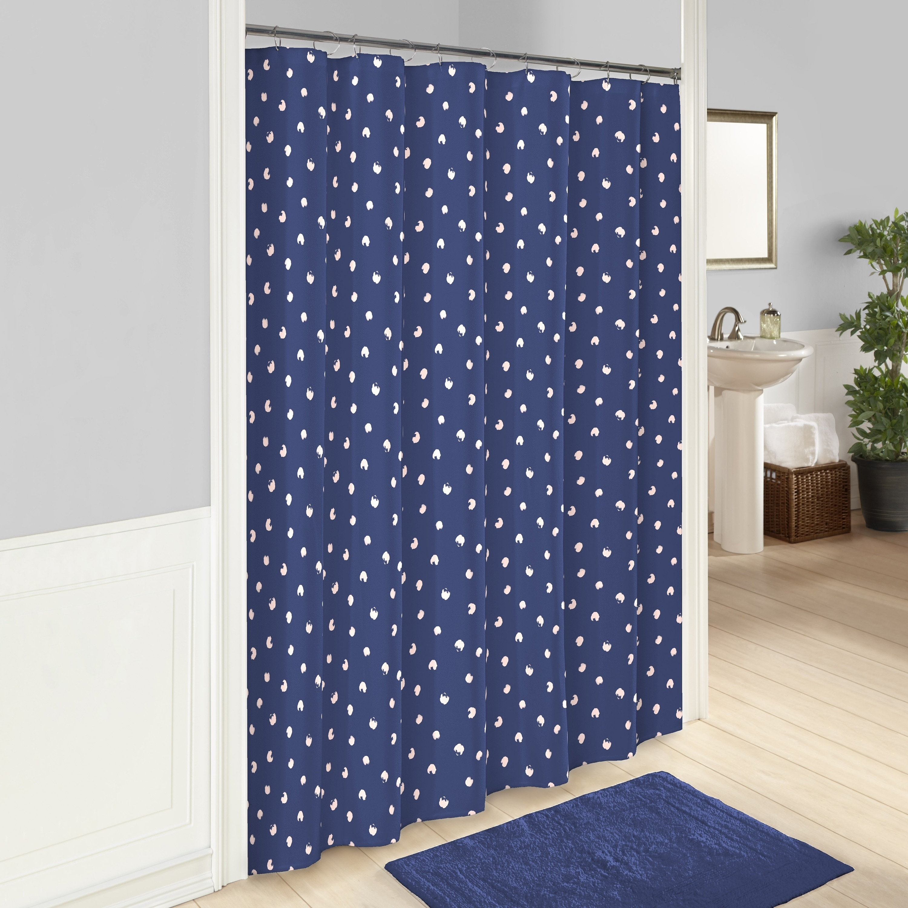 Vue Glam Stripe Shower Curtain - Free Shipping On Orders Over $45 ...
