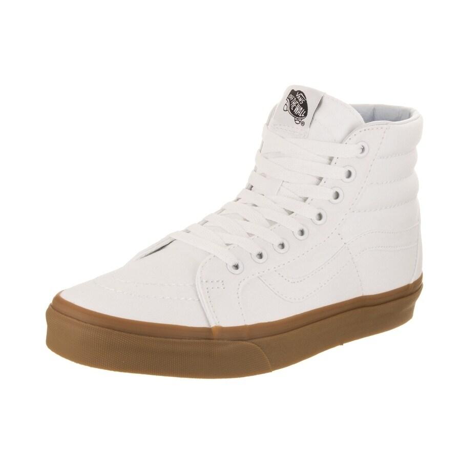 52edb11a869 Shop Vans Unisex Sk8-Hi Reissue (Canvas Gum) Skate Shoe - Free ...
