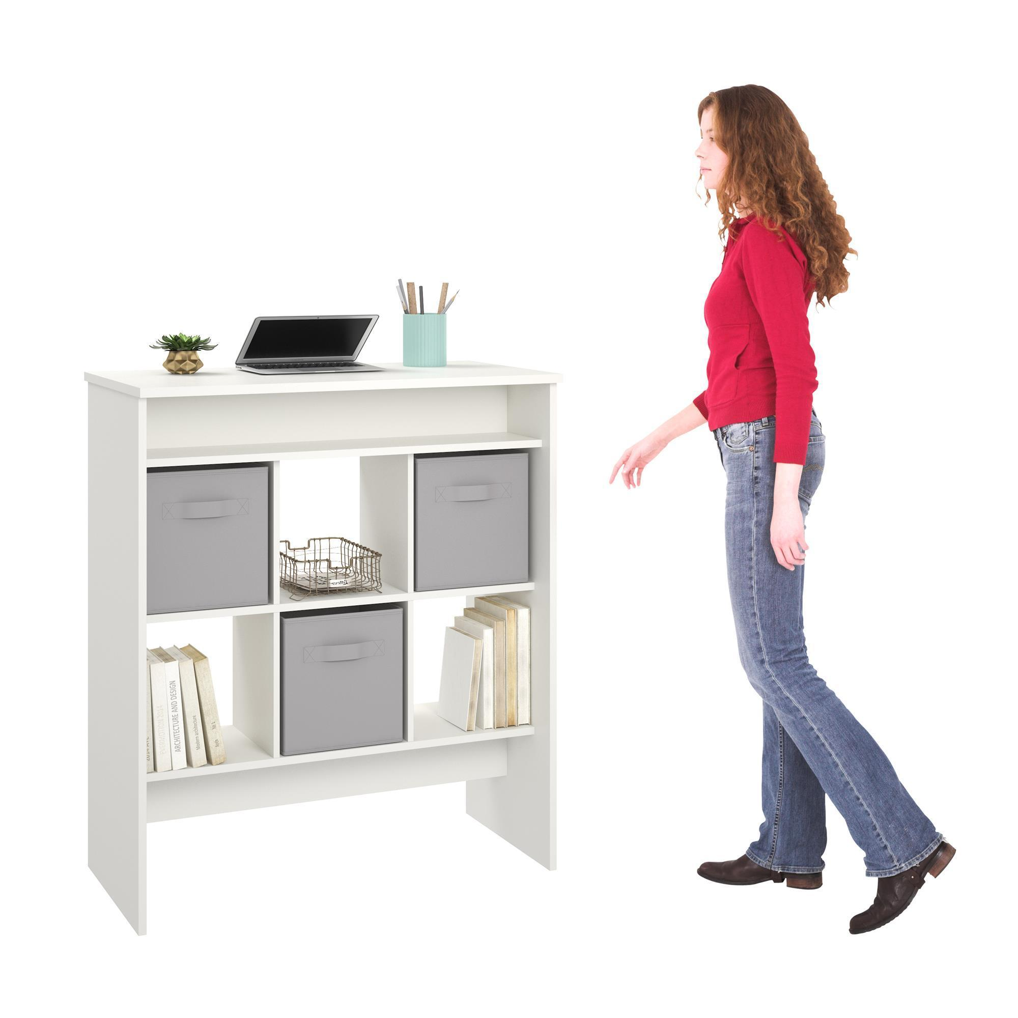 shipping drawer desk today greene home standing free garden avenue with overstock drawers product oakmont