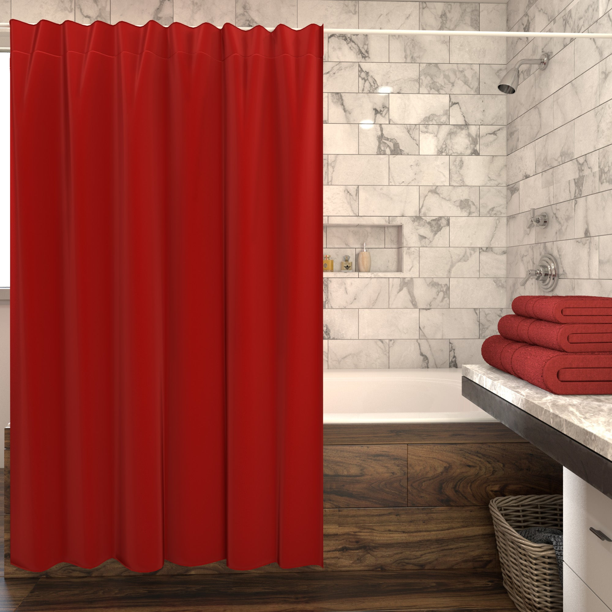 Shop Martex Solid Shower Curtain