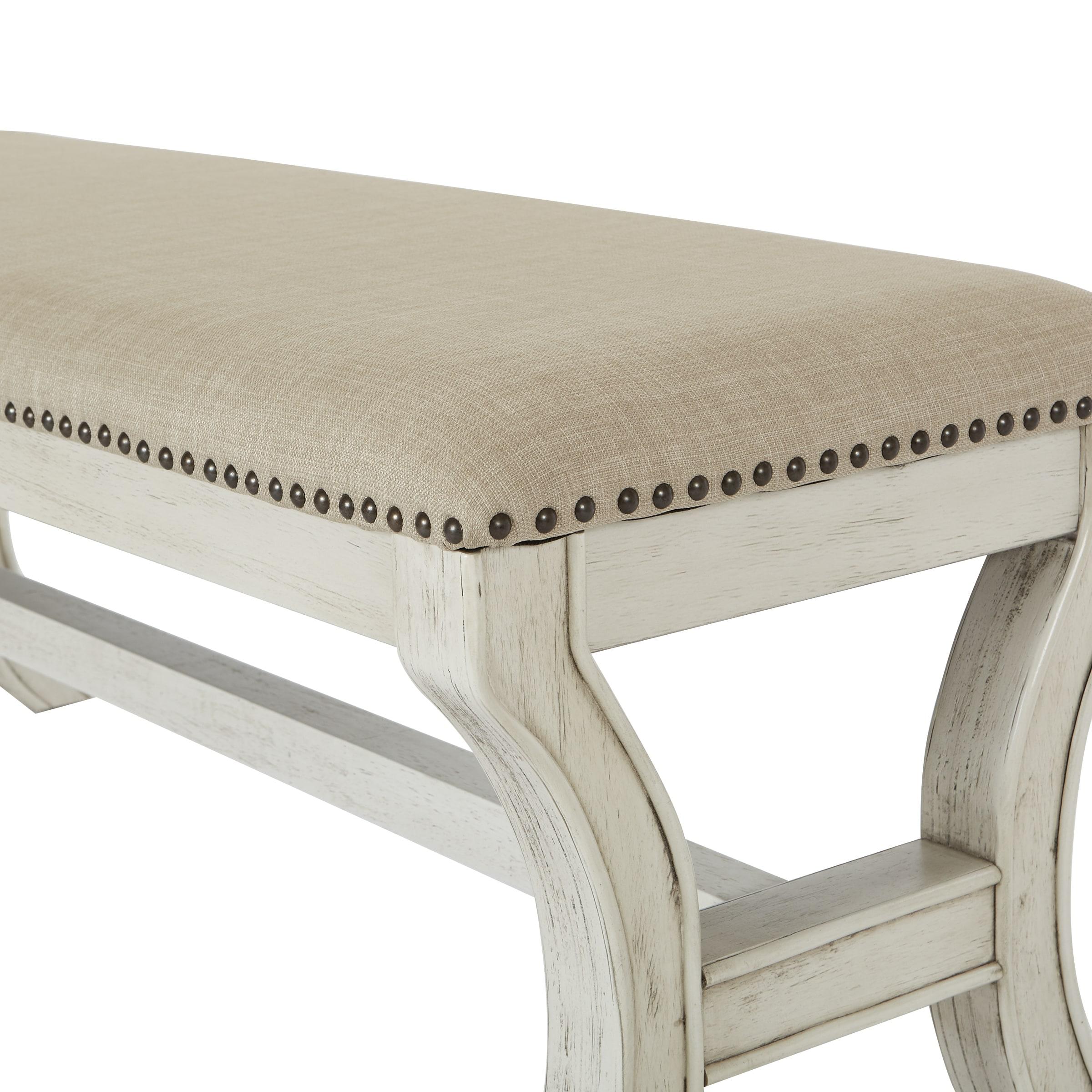 INSPIRED by Bassett Monaco 48 Mid Century Bench