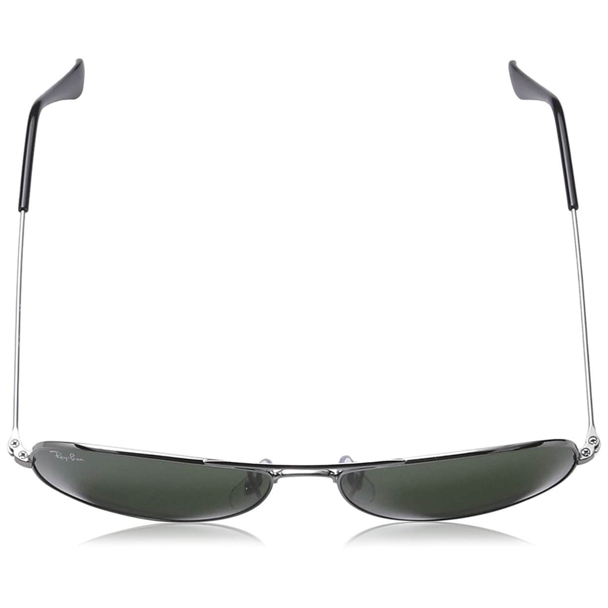 eb55b14e51d88 Shop Ray-Ban Men s RB3362 Cockpit Gunmetal Frame Green Classic 56mm Lens  Sunglasses - Free Shipping Today - Overstock - 18251235